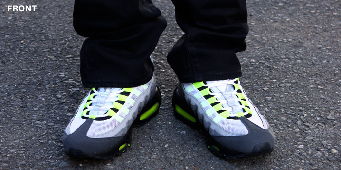 5463c8ae9c ... discount code for the nike air max 95 og in white neon yellow black  anthracite will ...