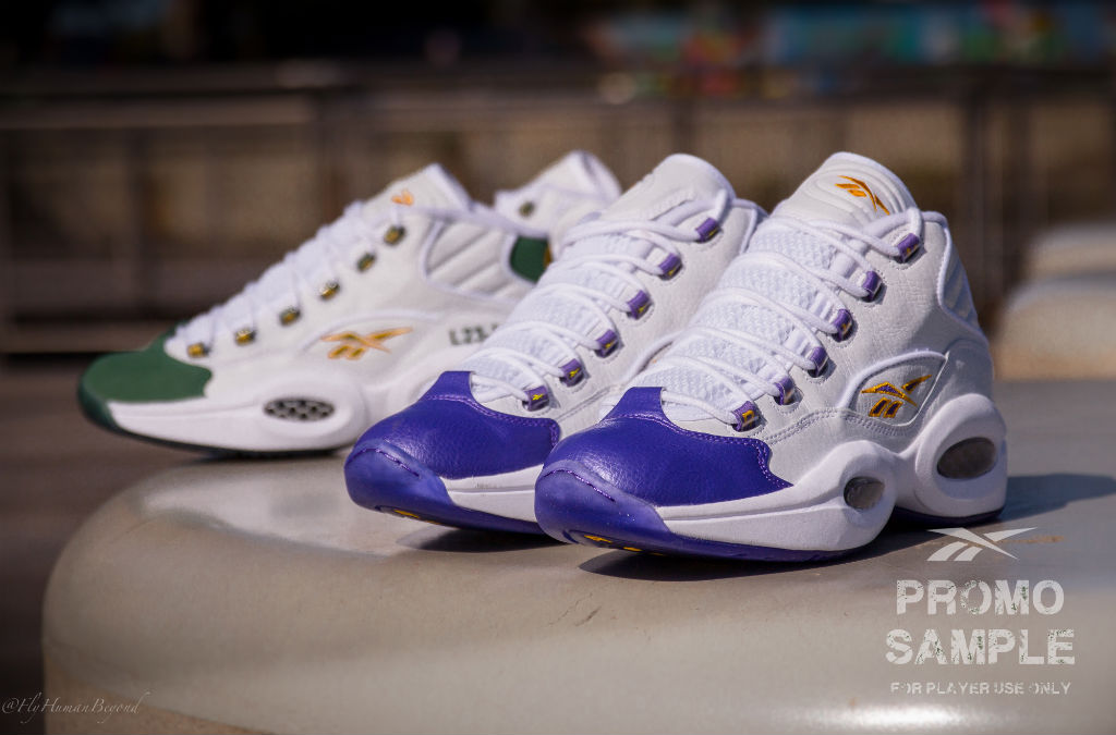 84de3eb2176 Packer Shoes x Reebok Question LeBron   Kobe  For Player Use Only  Pack