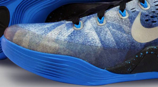 wholesale dealer e81b3 59783 Nike Kobe IX 9 EM Premium Game Royal Metallic Silver-Blue Hero 652908-