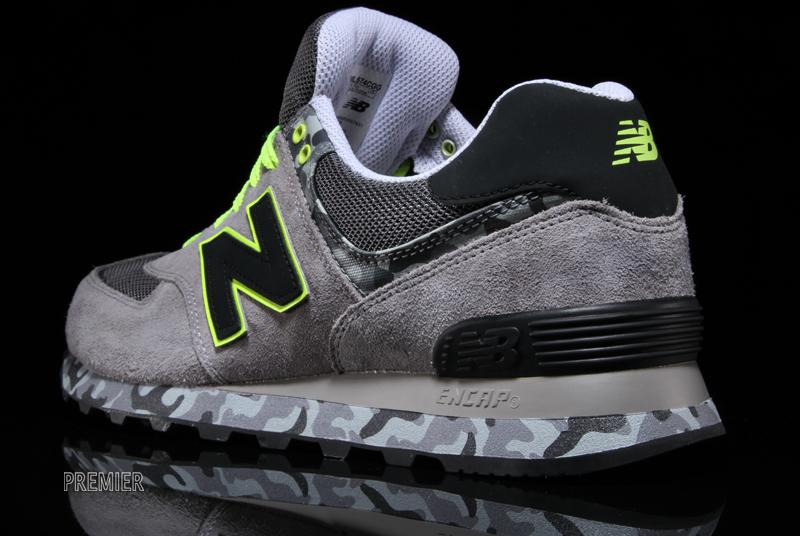 New Balance ML574 Camo Grey | Sole Collector