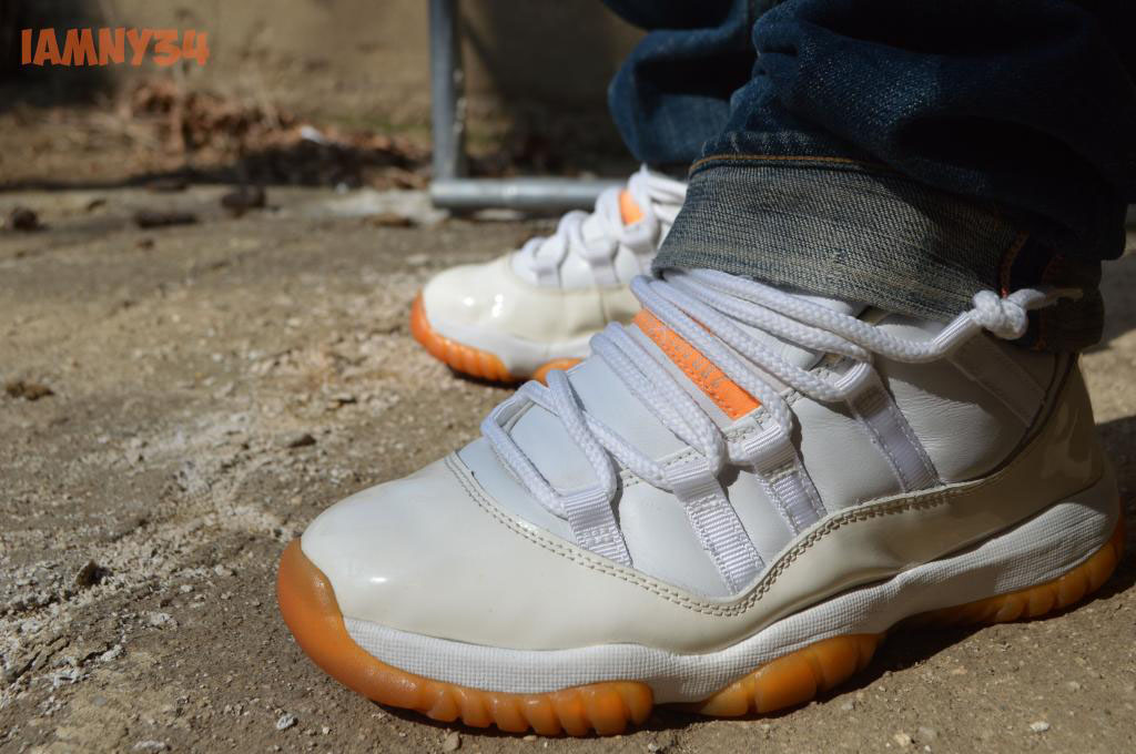 Spotlight: Forum Staff Weekly WDYWT? - 3.14.14 - iamny34 wearing Air Jordan 11 XI Low Citrus