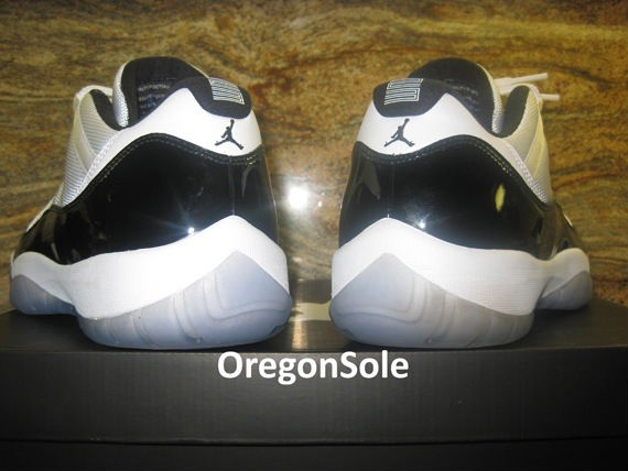 Air Jordan XI 11 Low Concord Sample (5)