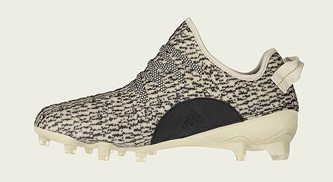 new concept 2f1e6 31dc8 Yeezy 350 Cleats Medial