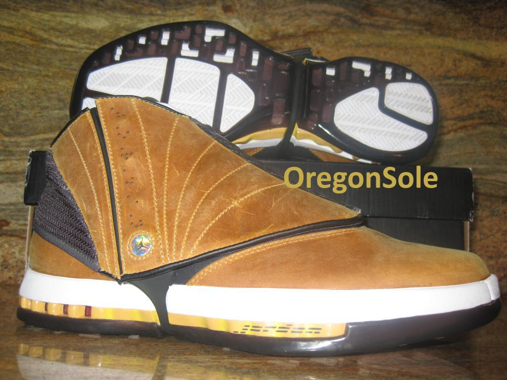 Air Jordan 16 Retro - Ginger - 2012