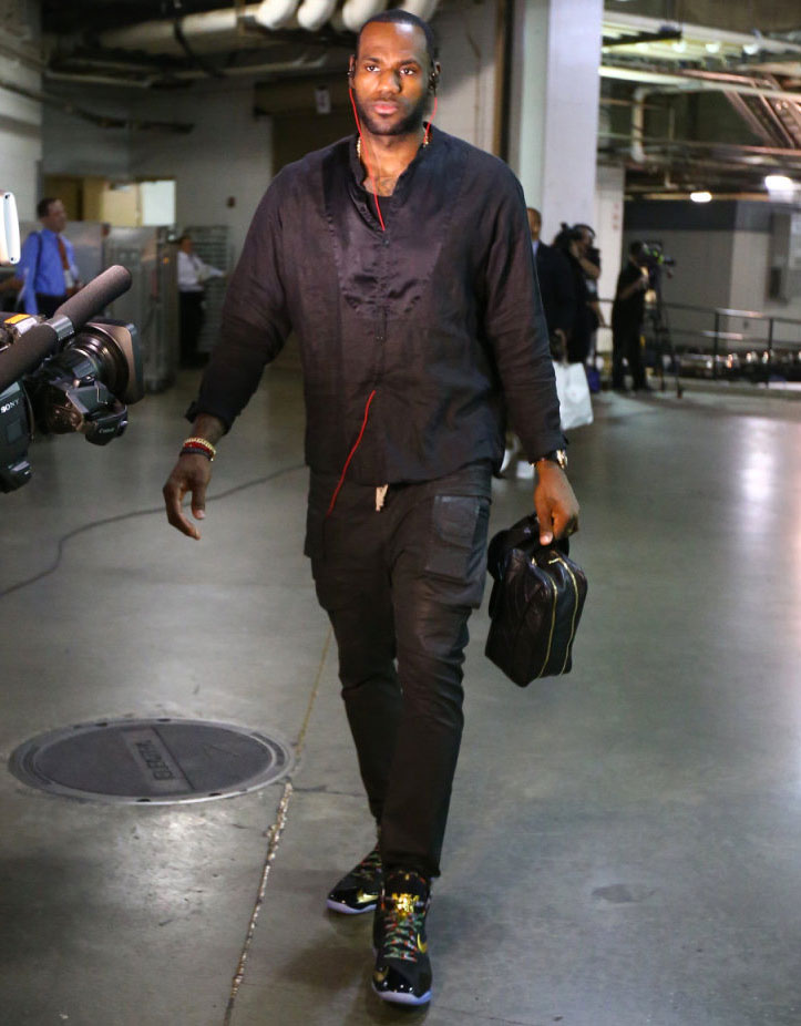 Eyeing the Finals, LeBron James Wears 'Watch the Throne ...