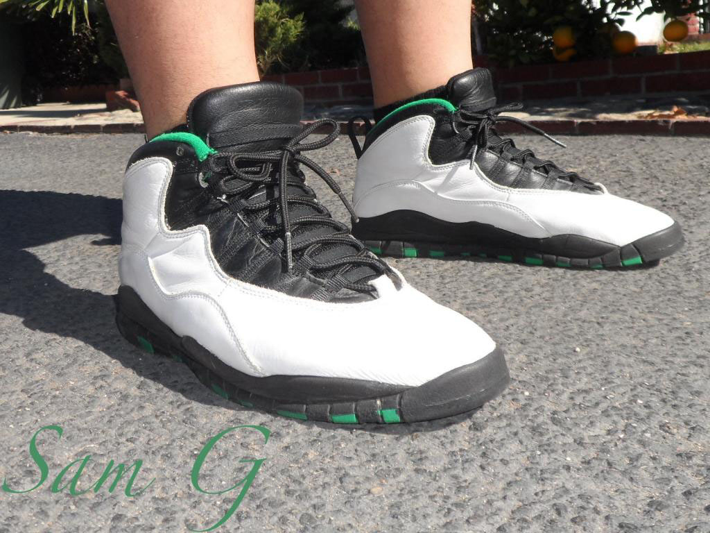 Spotlight // Forum Staff Weekly WDYWT? - 11.4.13 - Air Jordan 10 X Seattle by lashoecollector