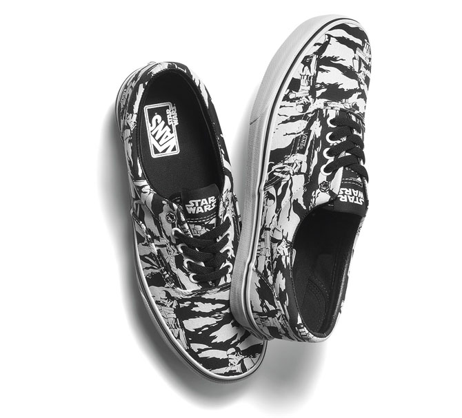 2302ec8591 Vans Releasing Star Wars Collection Inspired By The Dark Side