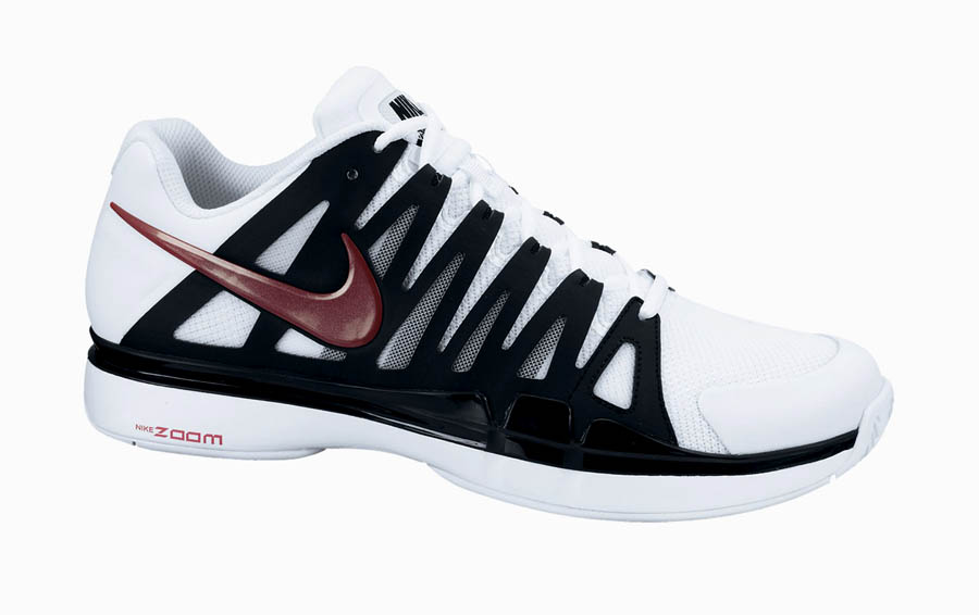 newest 736af 05ba7 Nike Zoom Vapor 9 Tour -  White Gym Red-Black