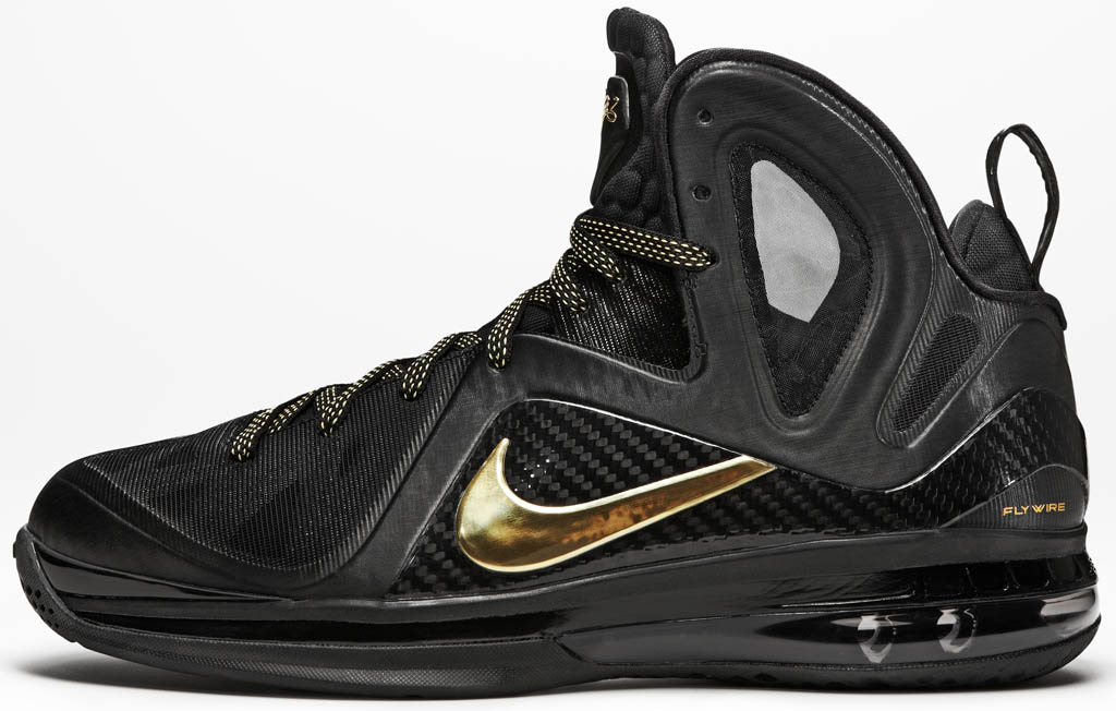 Nike LeBron 12 Elite Black Metallic Gold