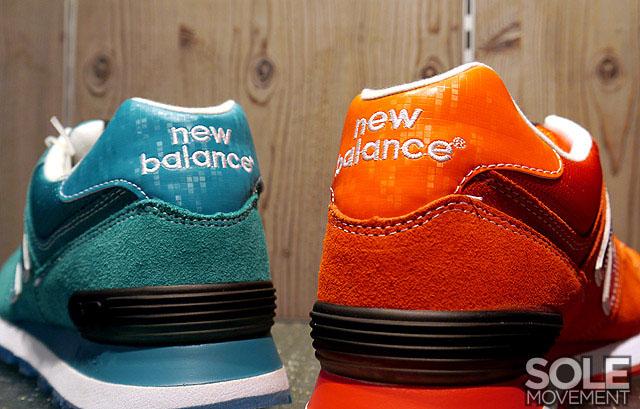 new balance 574s orange