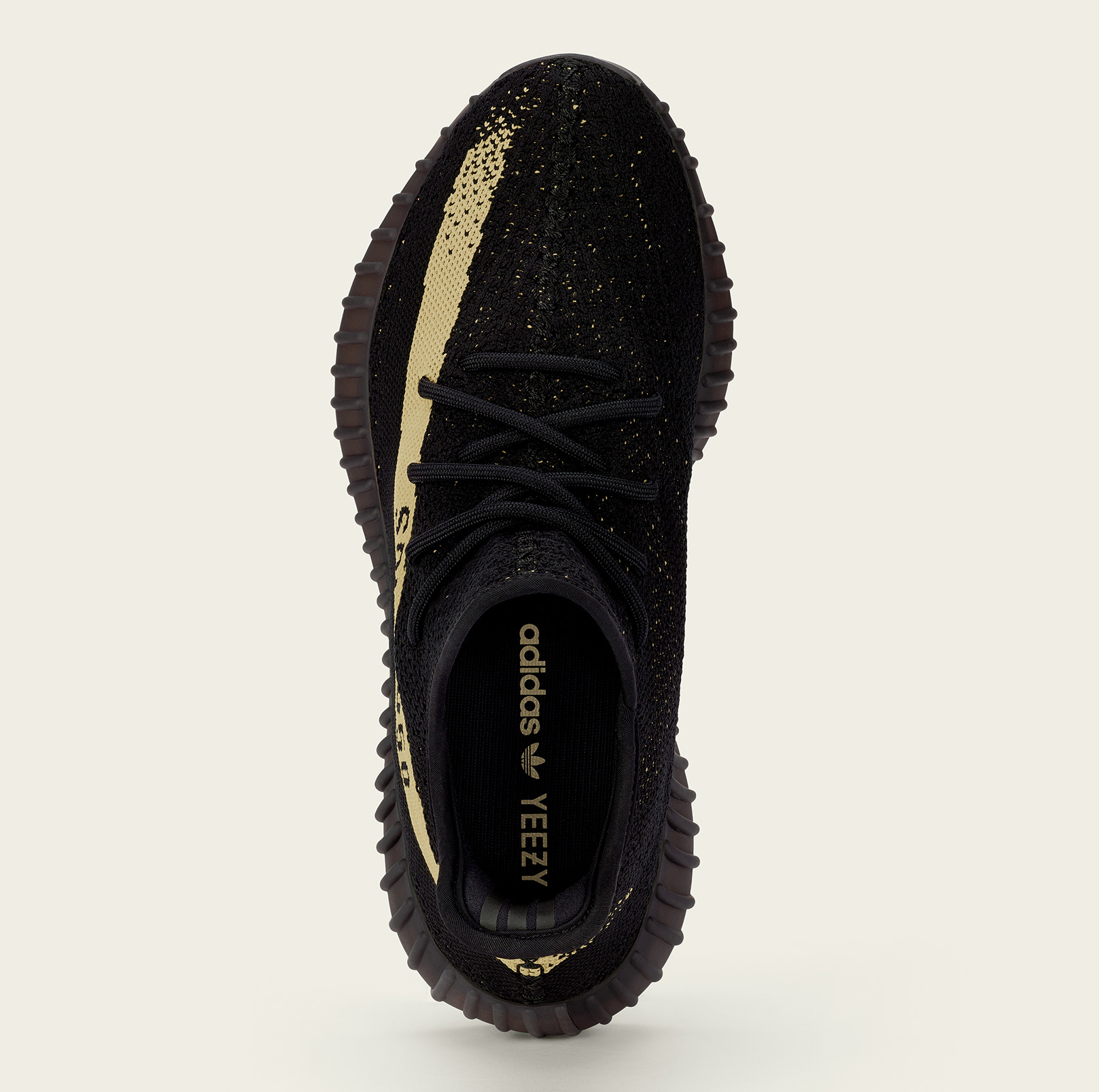 new arrival 972bd a6ec7 Image via Adidas Yeezy Boost Black Green Top