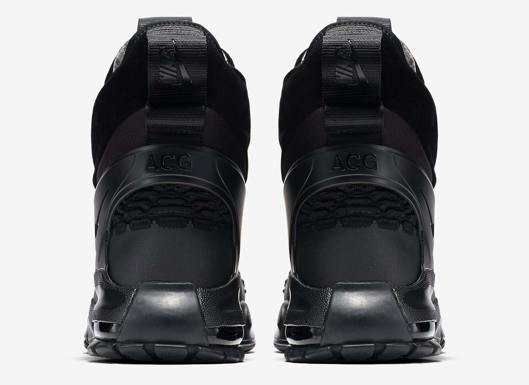 Image via Nike NikeLab Air Zoom Tallac Flyknit 865947-001 Black Heel 406efe1d05d7