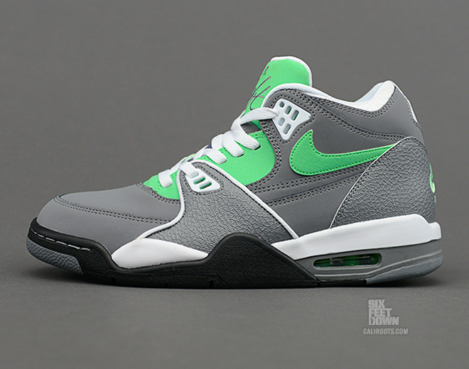 reputable site edb65 41744 ... urban haze light charcoal sole collector 4b75d acf51  aliexpress look  for the cool grey poison green air flight 89 at select nike sportswear  retailers