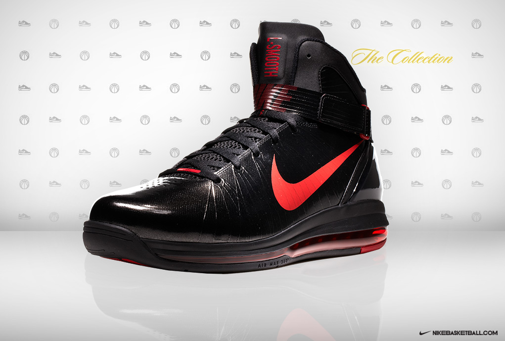 best loved b0273 81abb ... Nike Air Max Hyperdunk 2010 LaMarcus Aldridge Away PE ...