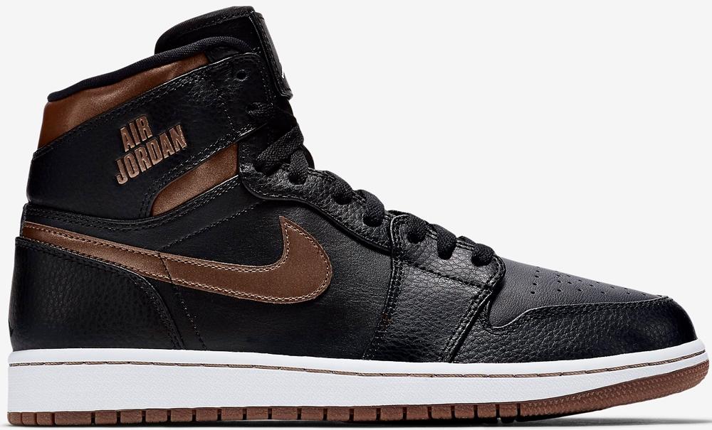 Air Jordan 1 Retro High Black/Brown-Metallic Bronze