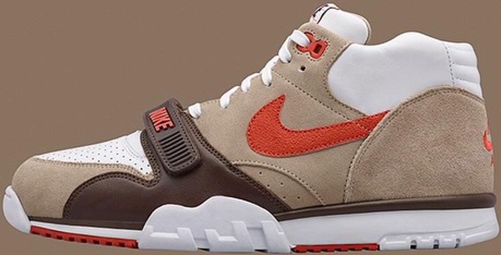 Nike Air Trainer 1 Mid Premium Chino/Baroque Brown-White-Rust