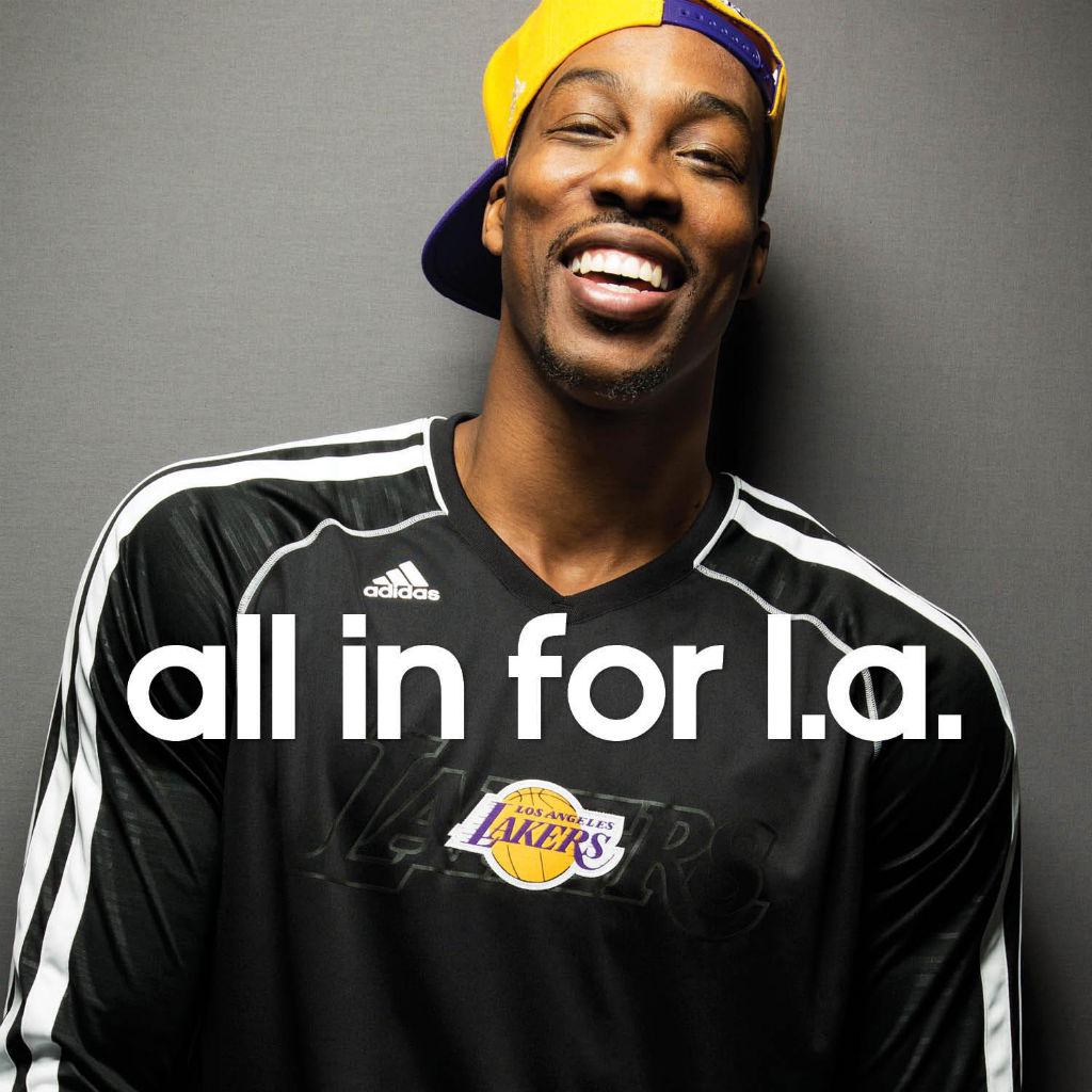 adidas & Dwight Howard Are All In For LA
