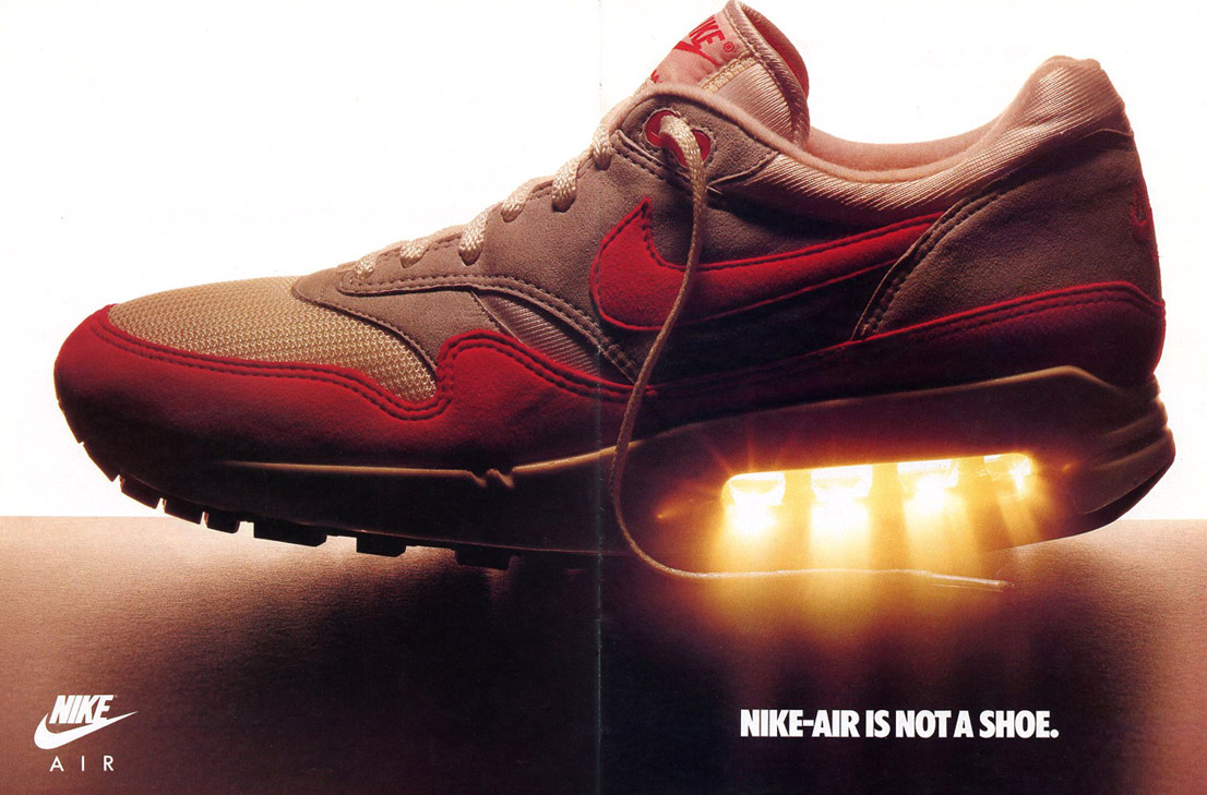 Vintage Ad Special Feature Nike Air Max Ad Insert Sole Collector