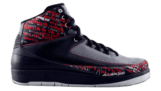882676b5f772bf Take a closer look at the Eminem Air Jordan 2.