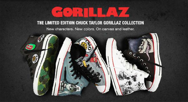 d1838785594652 Gorillaz x Converse Chuck Taylor All Star - Fall 2012