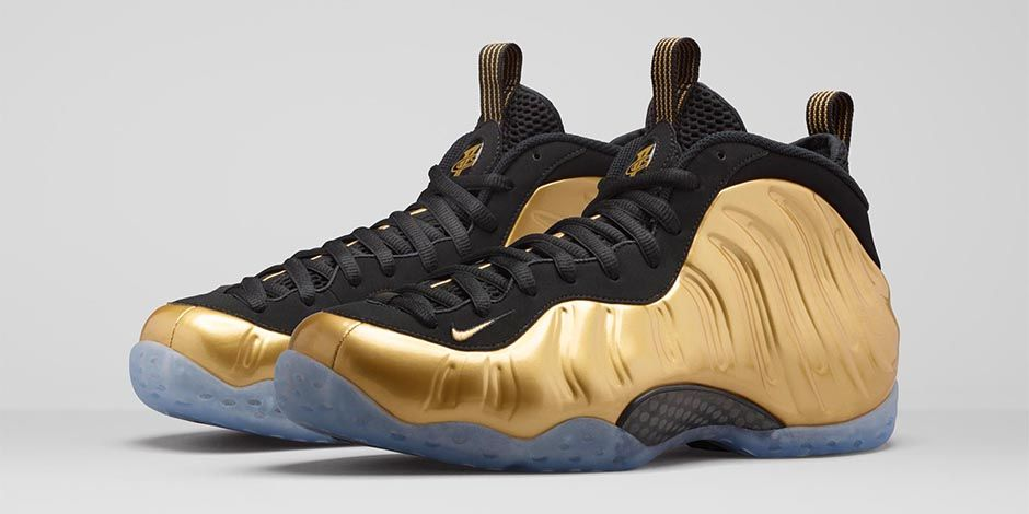 5008b45f8095a Nike Changed the  Metallic Gold  Foamposite Release Date (Again ...
