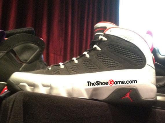 Air Jordan IX 9 Johnny Kilroy Black Platinum Gym Red 302370-012 62db623cd944