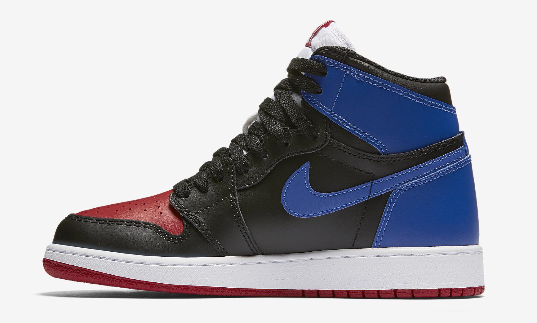 competitive price f9d07 08458 Image via Nike Top 3 Jordan 1 GS Medial