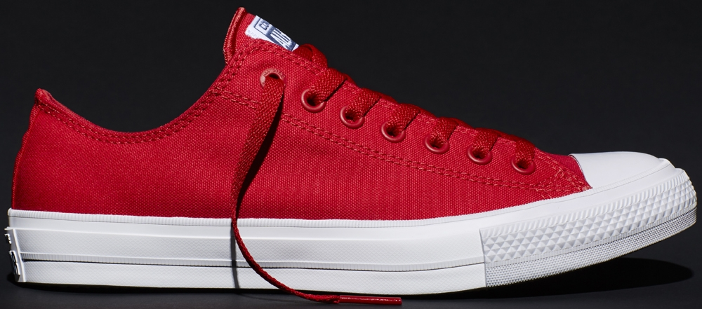 Converse Chuck Taylor All-Star II Ox Salsa Red/White