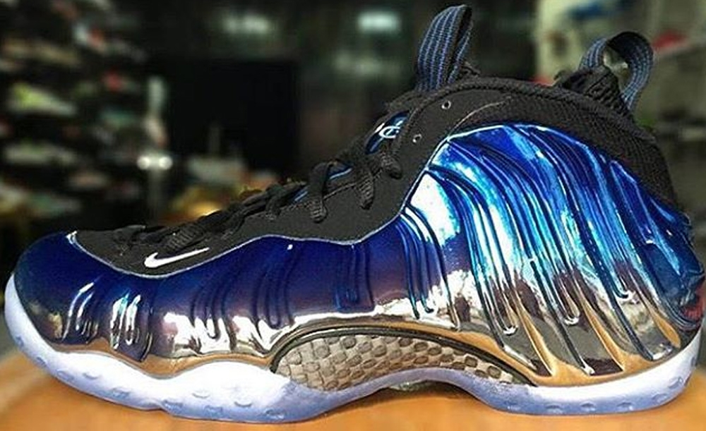 Nike Air Foamposite One Premium Blue Mirror