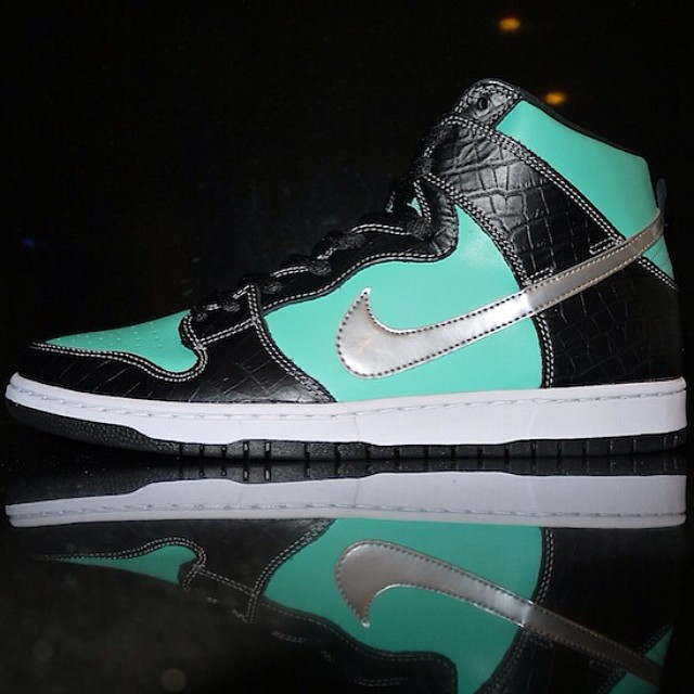 DJ Clark Kent Picks Up Nike Dunk High SB Tiffany