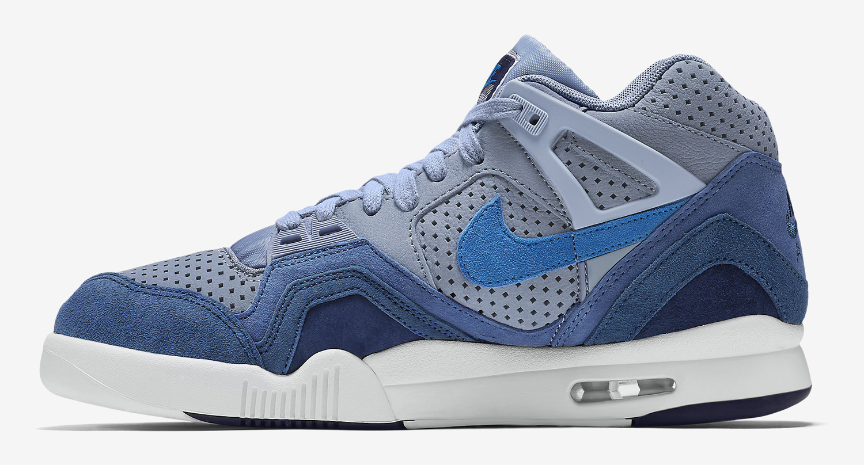 Nike Air Tech Cheap - 2016 Nike Air Tech Challenge II Blue Grey Shoes for Men