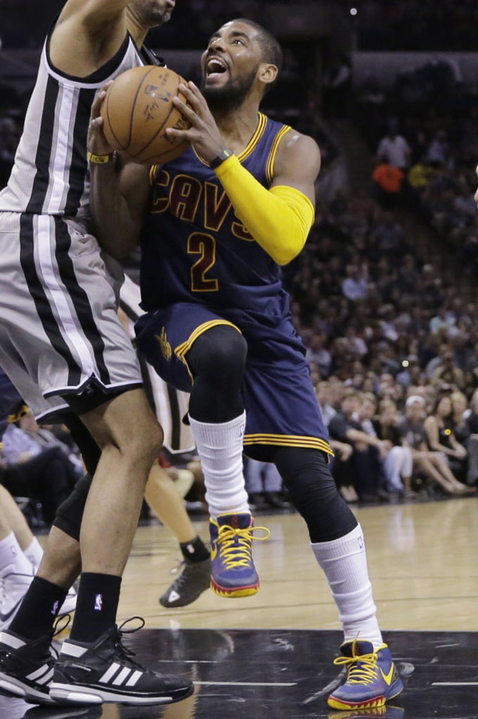 8ca0ea8e2405 SoleWatch  Kyrie Irving Scores 57 Points in a New Nike Kyrie 1 PE ...