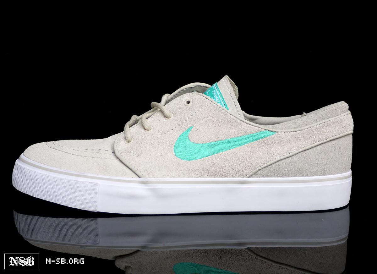 size 40 e7562 f8588 Nike SB Stefan Janoski - Clear Jade - New Images