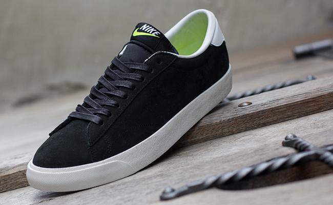 nike tennis classic ac premium black white lime sole. Black Bedroom Furniture Sets. Home Design Ideas