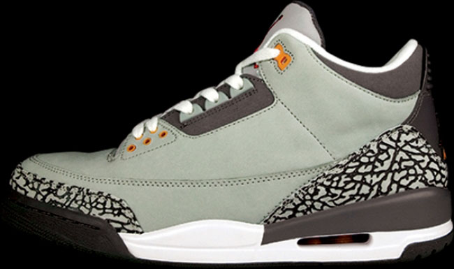 The Best Non-OG Colorways of Air Jordans: Air Jordan III 3 Cool Grey