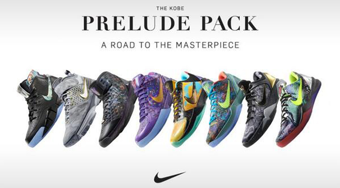 info for 8df99 a01d5 Kobe Prelude Pack via Nike