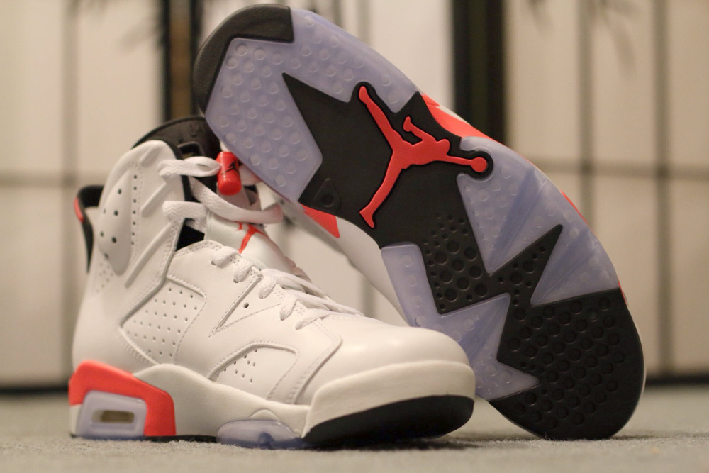 air jordan 6 white infrared 2014