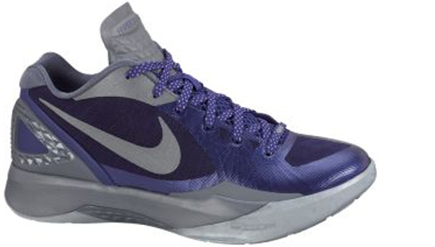 Nike Zoom Hyperdunk 2011 Low PE Club Purple/Metallic Silver-Cool Grey