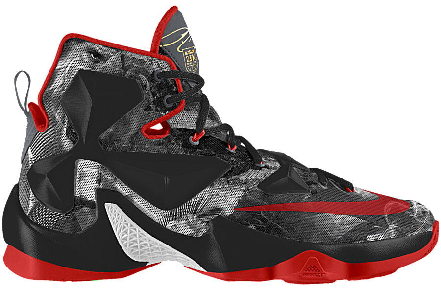 ab658275d4a6 NIKEiD Released a New Design Option to Celebrate LeBron James ...