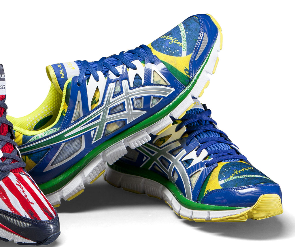 ASICS GEL-Blur 33 2.0 Flag Collection - Brazil