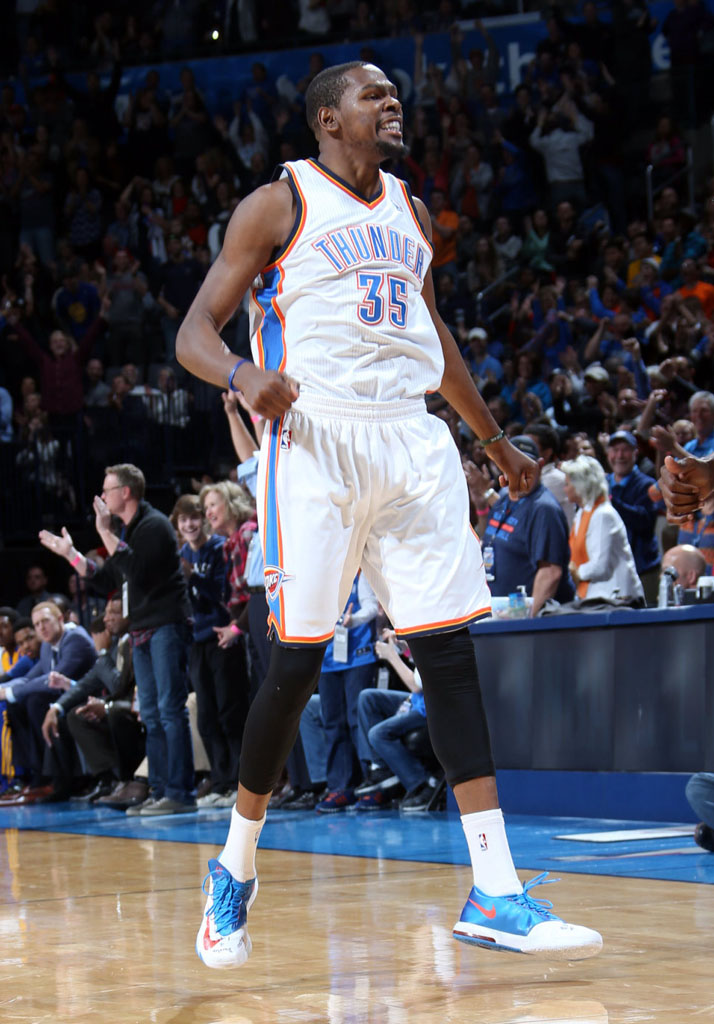 Kevin Durant Scores 54 Points in Nike KD 6 'Home' PE (1)