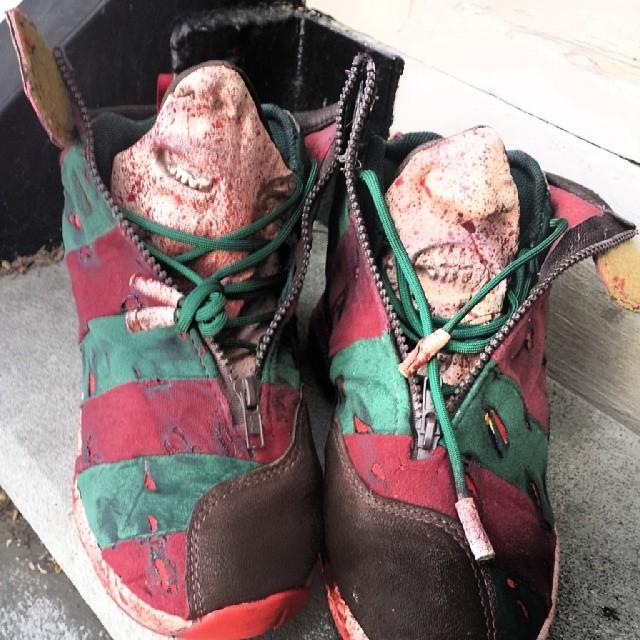 Freddy Krueger Nike Shoes
