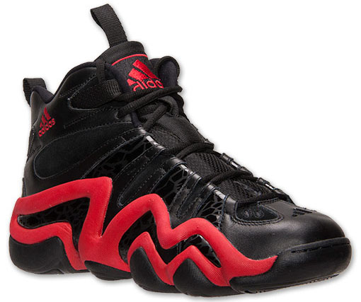adidas Crazy 8 - Black/Red - Finish Line Exclusive