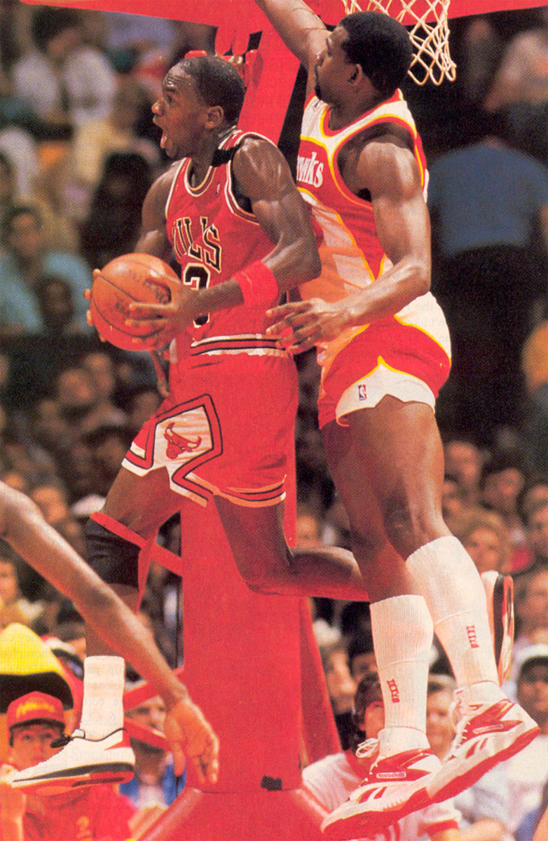 Michael Jordan Wearing the 'Chicago' Air Jordan 2 Low