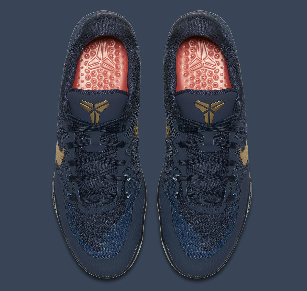 1e28a0bd0eb Nike Kobe 11 EM Philippines Deep Royal Fountain Blue-Metallic Gold Release  Date Top