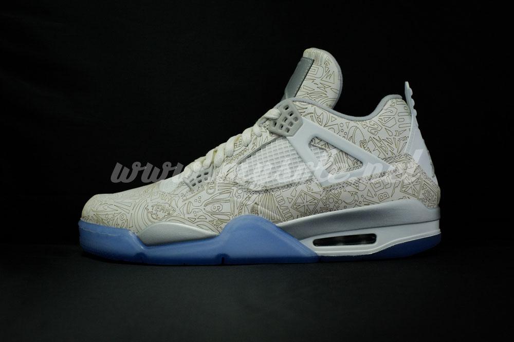 Reflective 'Laser' Air Jordan 4