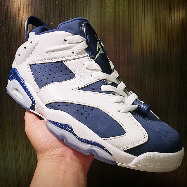 e52a6fb879ce The  Insignia Blue  Air Jordan 6 Low Release Draws Near