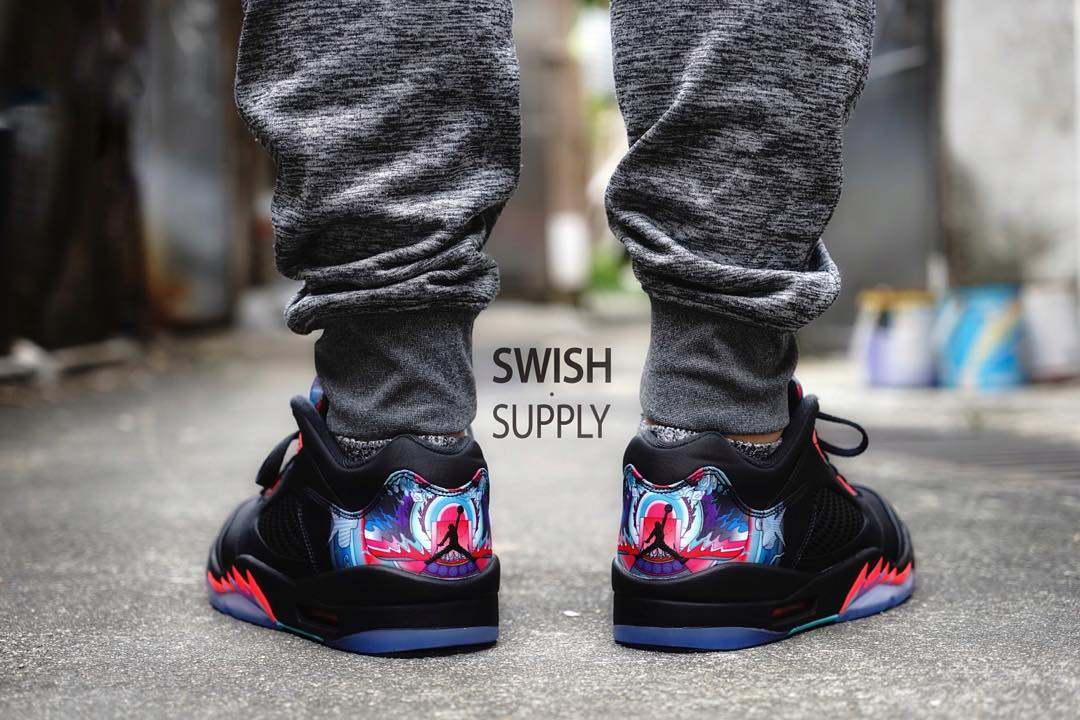 Air Jordan 5 Low China On-Foot 840475-060 (4)