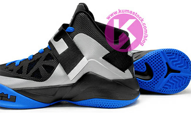 cheap for discount fc841 7188e Nike Zoom Soldier VI Wolf Grey Black Photo Blue 525015-011 (5)