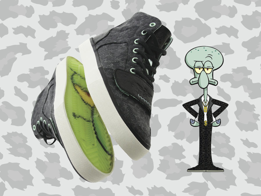 BAIT x Creative Recreation Cesario XVI Squidward